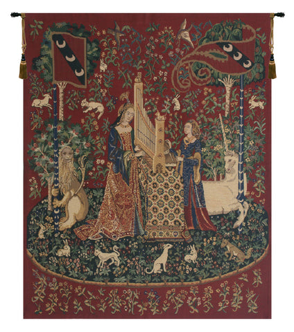 Lady and the Organ Tapestry - Tapestry Zest