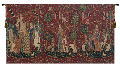 Lady and the Unicorn Series Tapestry - Tapestry Zest