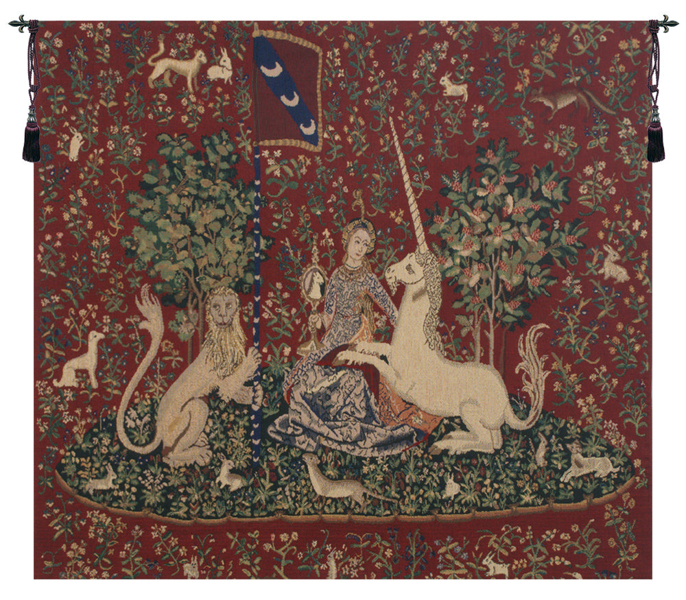 Lady and the Mirror Tapestry, A - H 33 x W 38