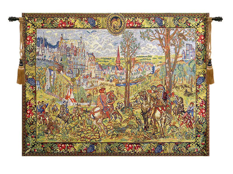 Vieux Brussels Beligium Tapestry - Tapestry Zest