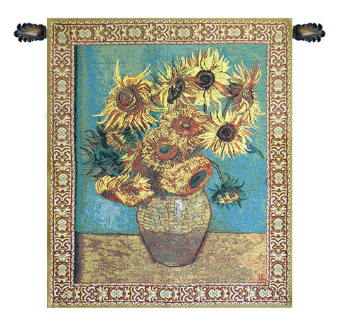 Sunflowers Tapestry - Tapestry Zest