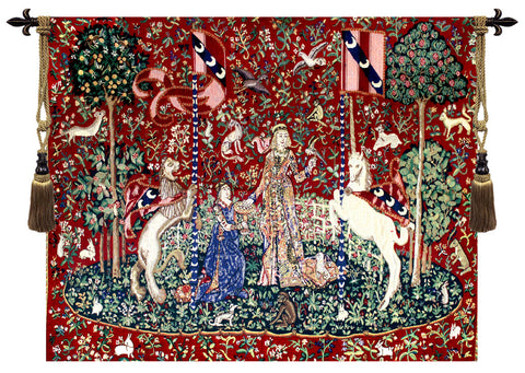 Taste Lady and Unicorn Tapestry - Tapestry Zest