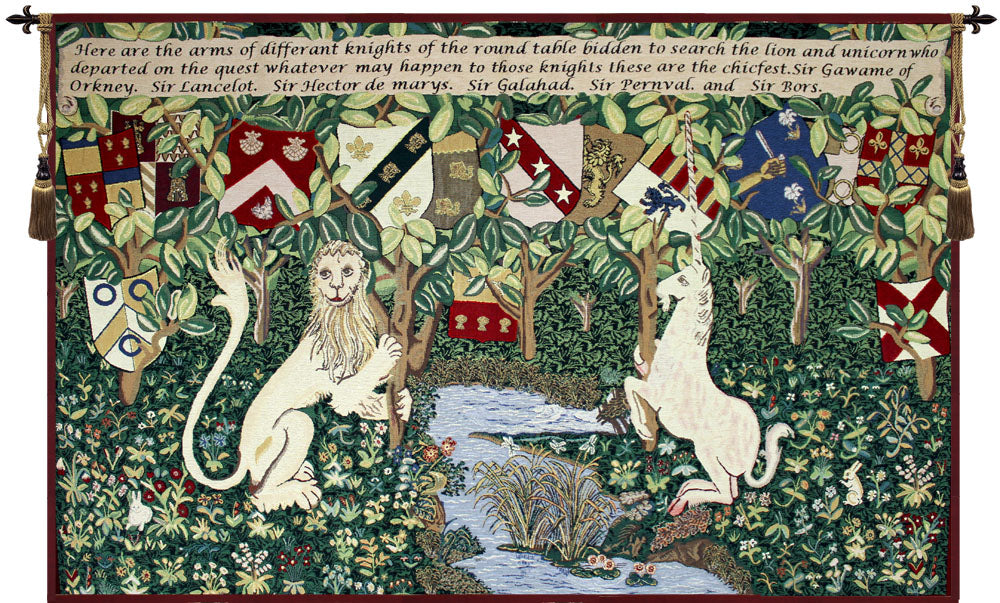 Arms of the Knights Tapestry - Tapestry Zest