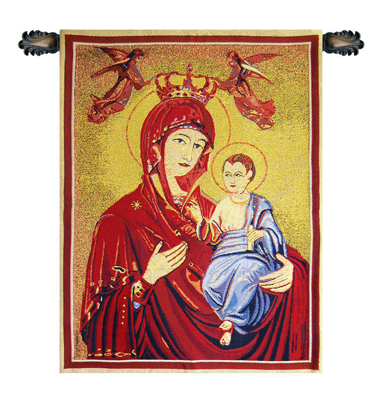 Madonna and Child Tapestry - Tapestry Zest