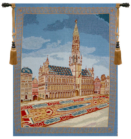 "Brussels Place II Tapestry, 27""x21"