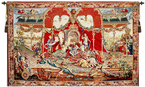 Audience of the Prince Tapestry - Tapestry Zest