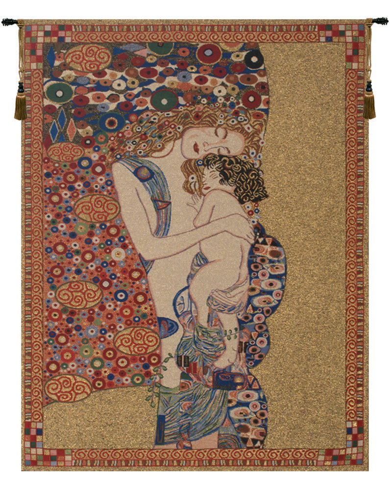 Klimt's Mother and Child Tapestry