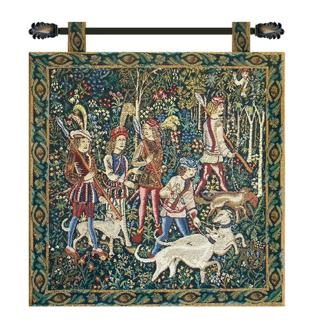 Unicorn Hunt with Loops Tapestry - Tapestry Zest