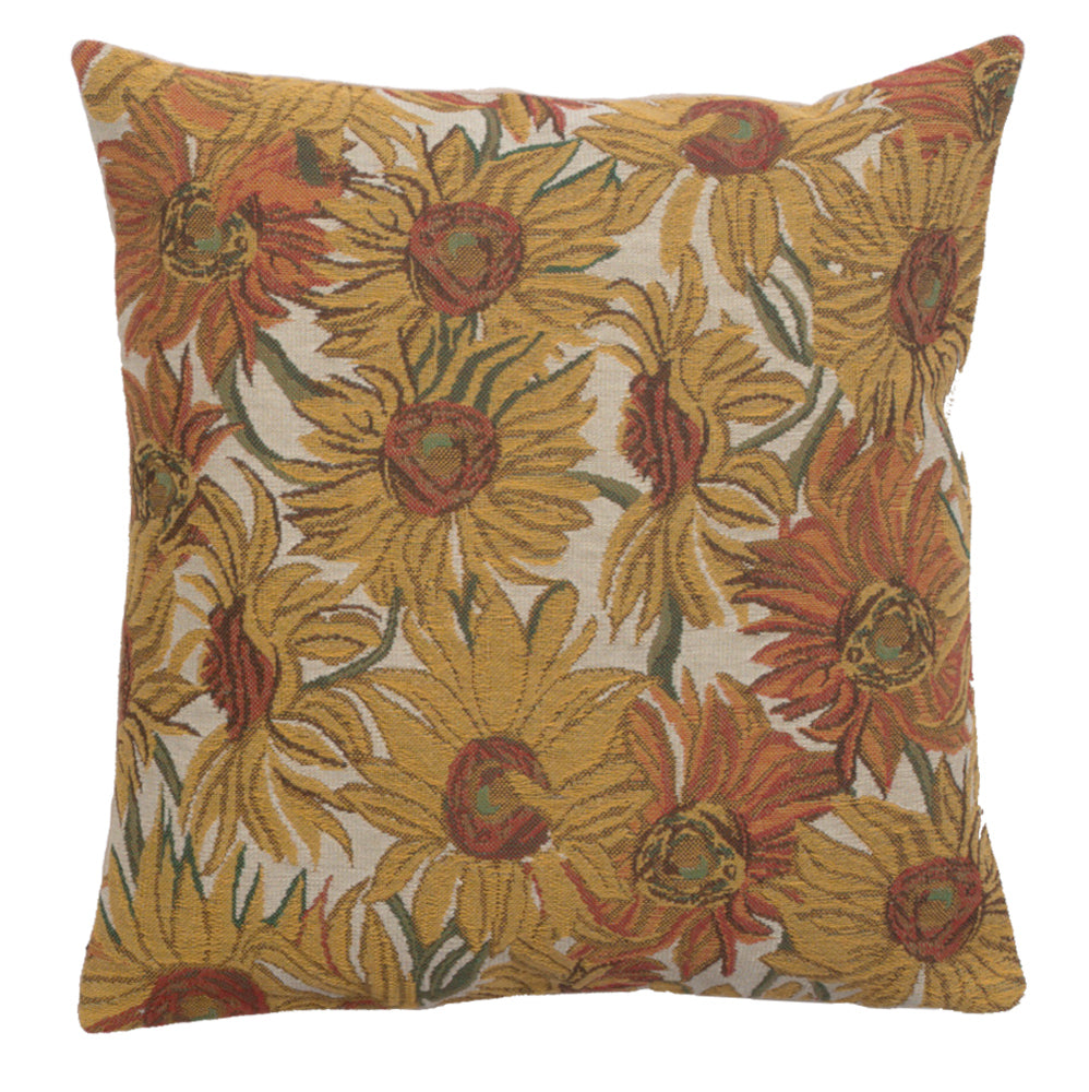 Sunflowers Yellow Cushion