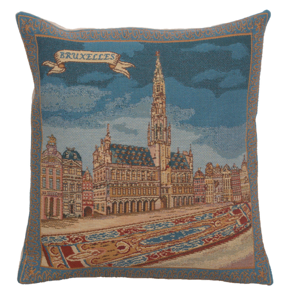 Grand Place Brussels II Cushion