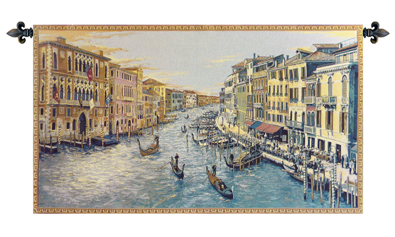 Grand Canal Italian Wall Tapestry - Tapestry Zest