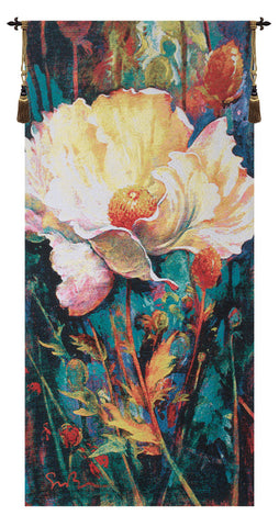 In Your Light Floral Wall Tapestry - Tapestry Zest