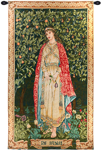 Orchard by William Morris French Tapestry - Tapestry Zest