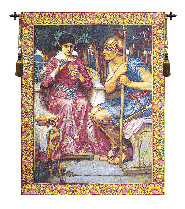 Giason and Medea Italian Wall Tapestry - Tapestry Zest
