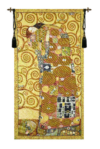 The Embrace by Klimt - Tapestry Zest