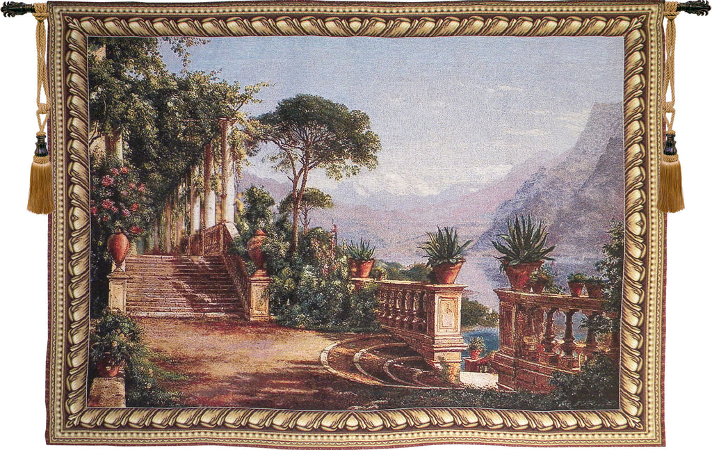 Lake View Terrace Tapestry Wall Art - Tapestry Zest