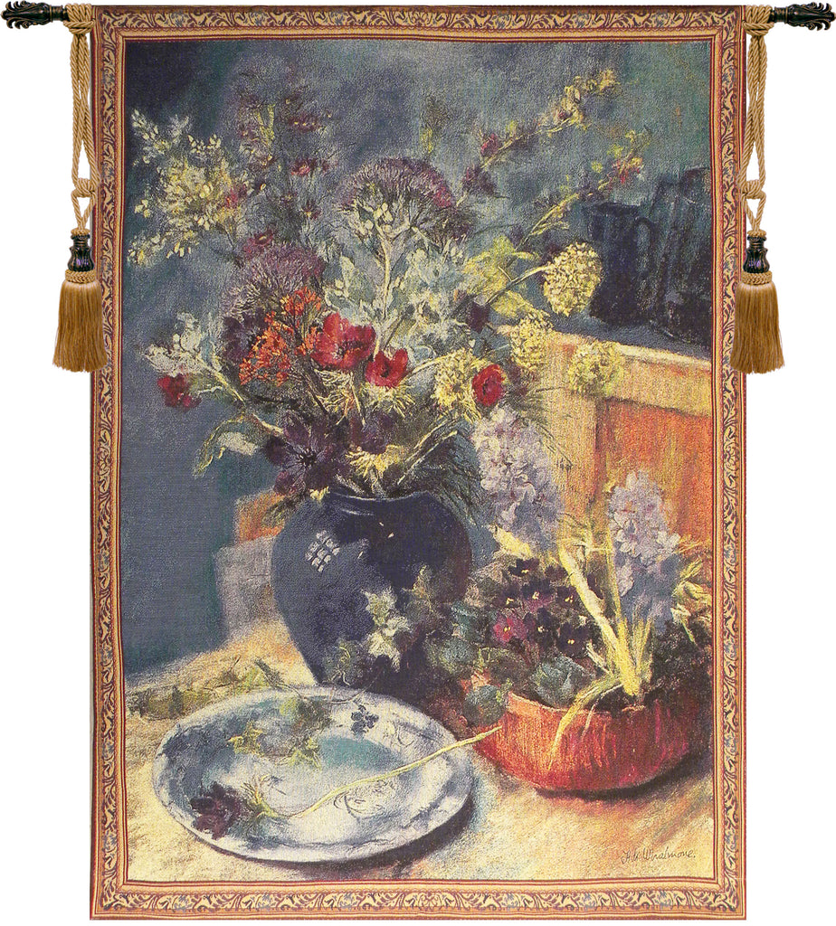 Spring Bouquet Still Life Tapestry Wall Art - Tapestry Zest