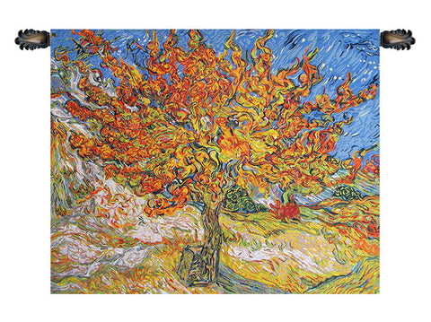 The Mulberry Tree Van Gogh Tapestry - Tapestry Zest