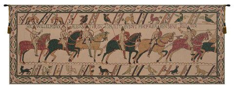 Bayeux William's Troops Tapestry