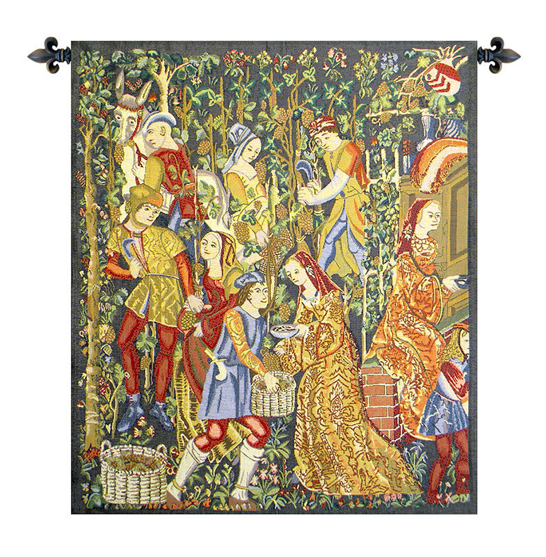 Vendanges Right Side Red Tapestry - Tapestry Zest