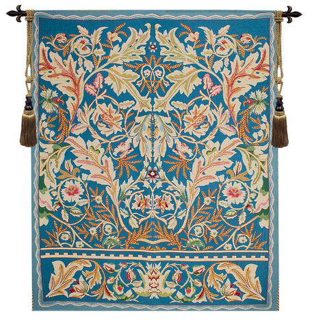 Acanthus Blue Tapestry - Tapestry Zest