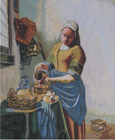 The Kitchen Maid Tapestry - Tapestry Zest