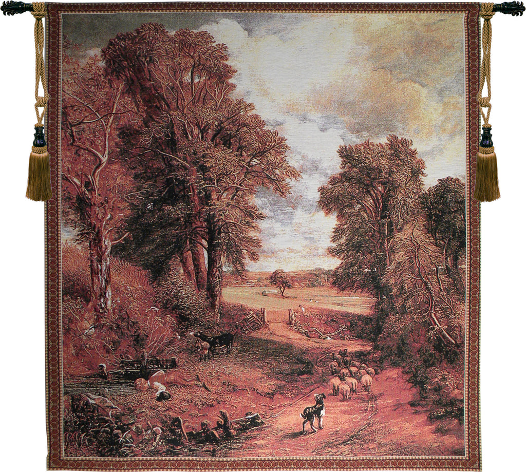 Autumn Countryside Tapestry Wall Art - Tapestry Zest