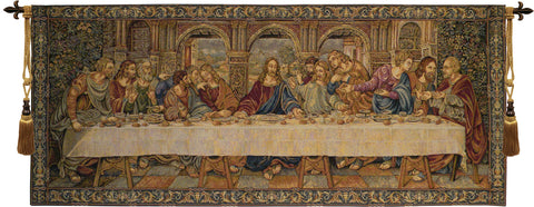 The Last Supper VII Italian Wall Tapestry - Tapestry Zest