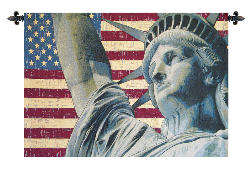 Statue of Liberty Italian Wall Tapestry - Tapestry Zest