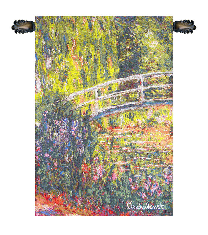 Pont Japonnais European Wall Tapestry - Tapestry Zest