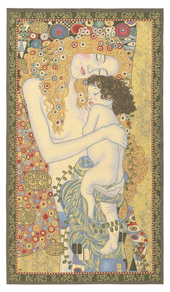 Three Ages of Women Wall Tapestry - Tapestry Zest