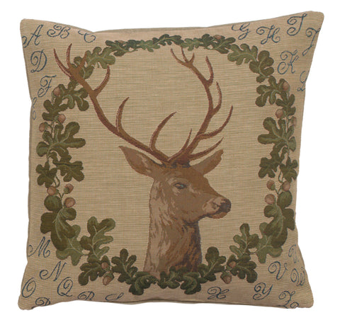 ABC Stag French Cushion Cover