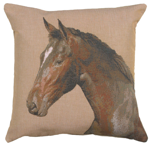 Close up On Horse 1 French Cushion Cover