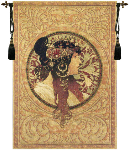 Muchas Donna Orechini Belgian Wall Tapestry - Tapestry Zest
