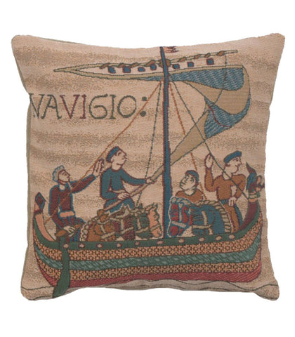 Bayeux The Boat French Cushion Cover