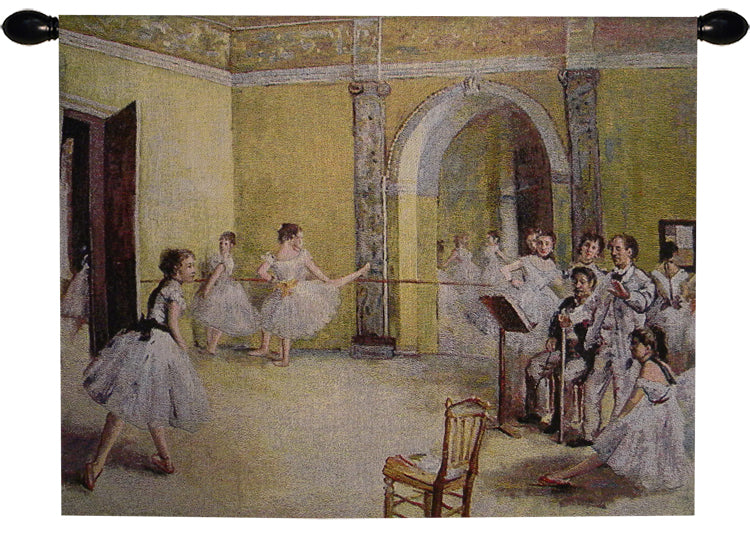Ballerina Dance Foyer Tapestry Wall Art - Tapestry Zest