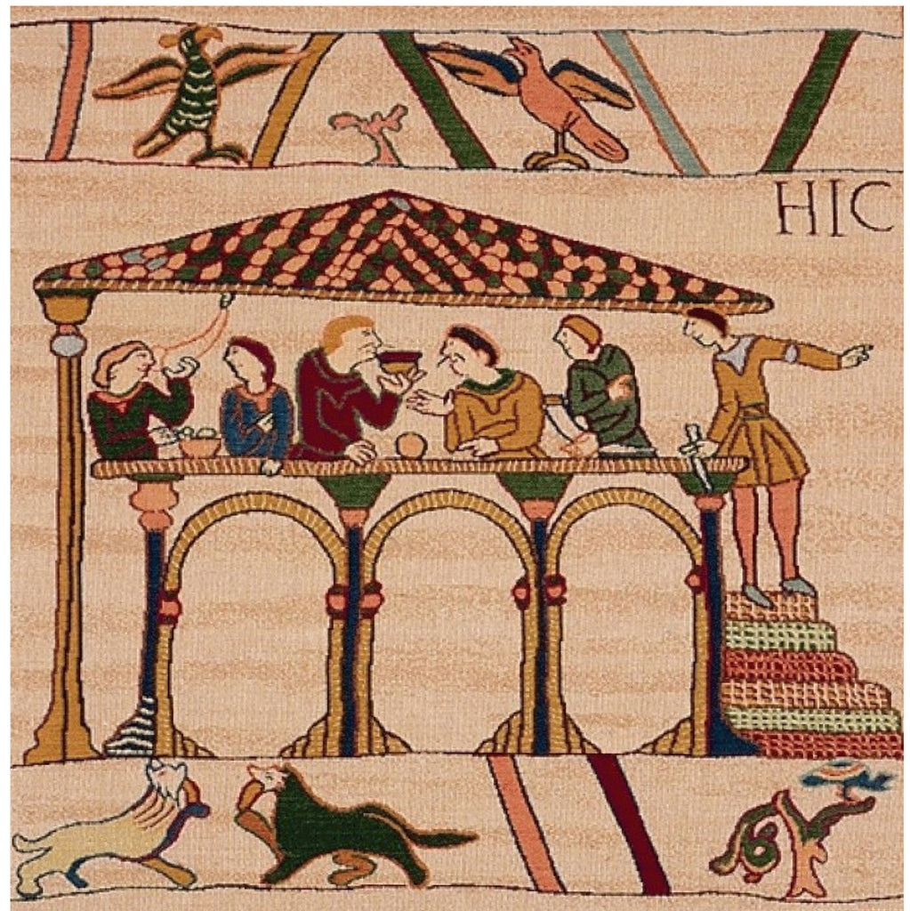 Bayeux Le Repas French Cushion