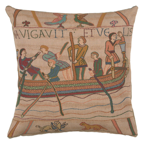 Bayeux L'Embarquement French Cushion Cover
