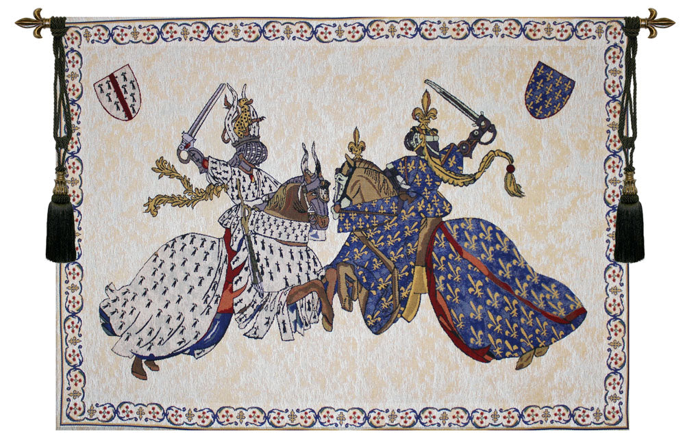 Tournament of Knights Roi Rene Tapestry - Tapestry Zest
