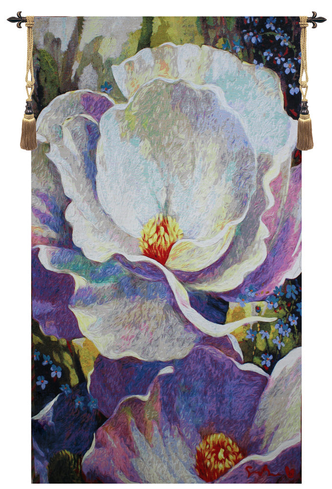 Morning Song Floral Wall Tapestry - Tapestry Zest