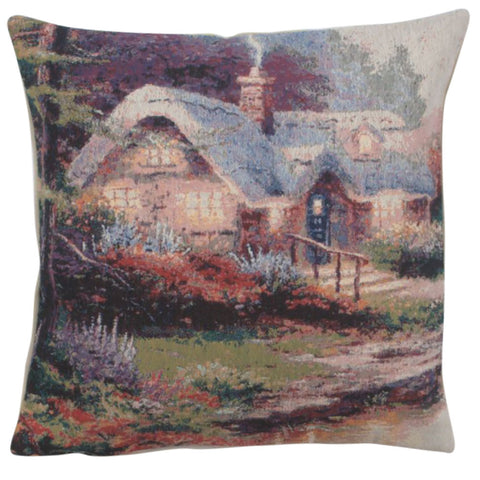 Beyond the Garden Gate Decorative Pillow Cushion Cover