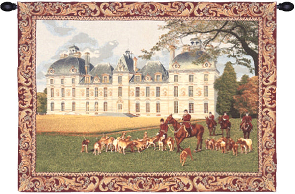 Cheverny European Wall Tapestry - Tapestry Zest
