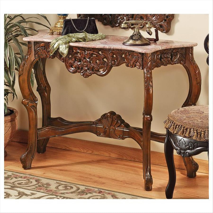 Dordogne Console Table - Tapestry Zest