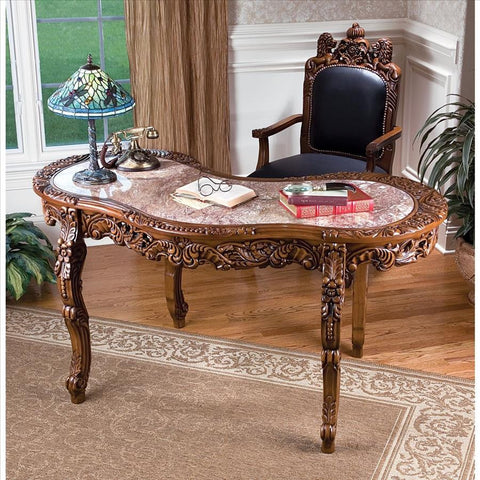 Mountbatten Desk - Tapestry Zest