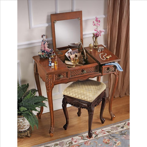 Princess Caroline Vanity Table - Tapestry Zest