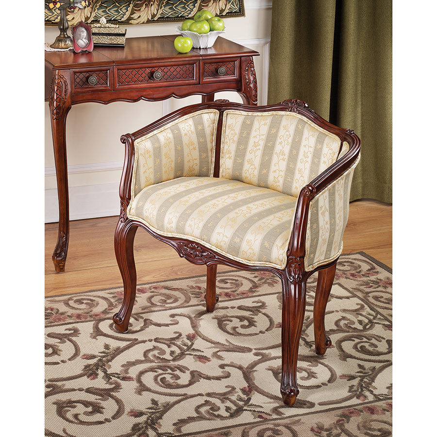 Marguerite Petite Bergere Chair - Tapestry Zest