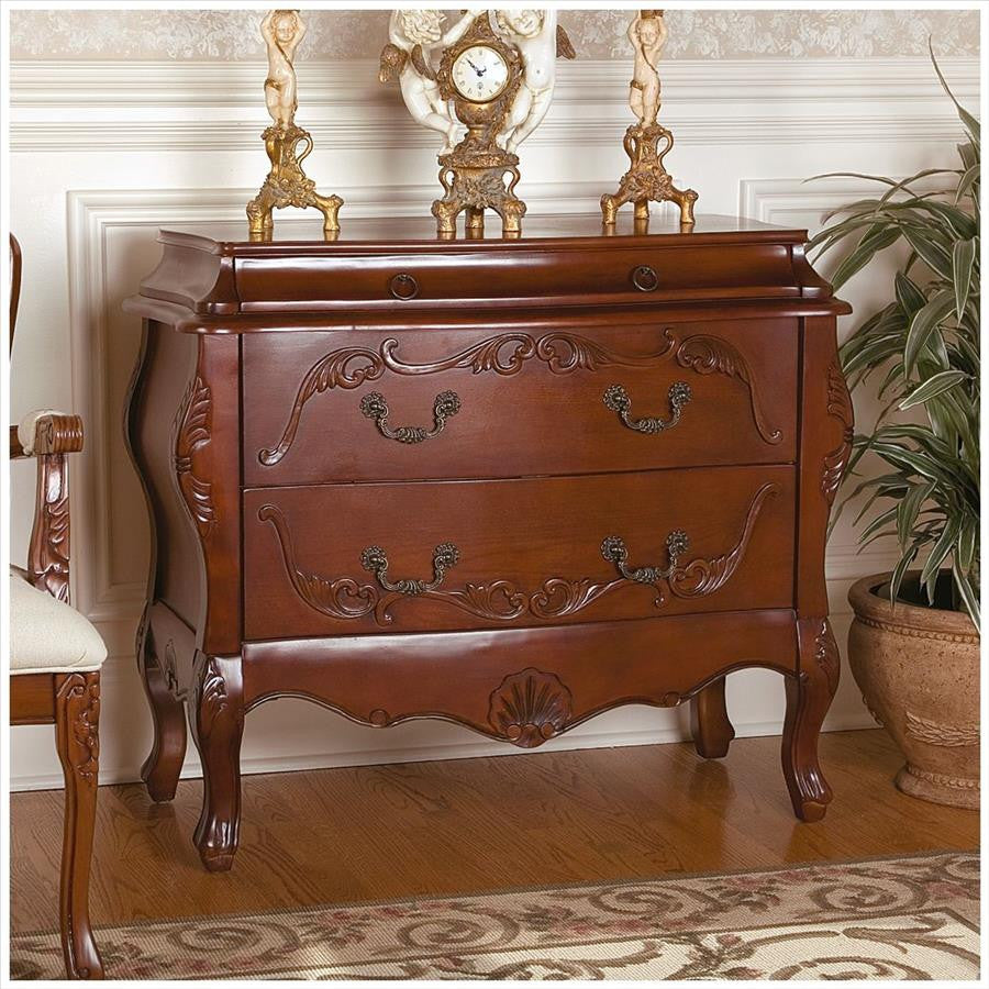 Jean Hei Bombe Commode Chest - Tapestry Zest
