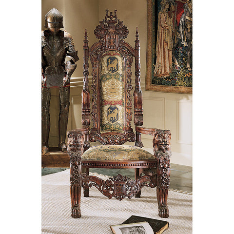 Lord Raffles Throne - Tapestry Zest