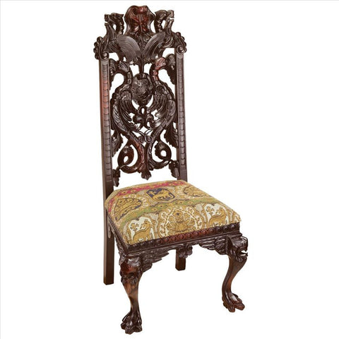 Knottingley Manor Chair - Tapestry Zest