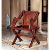 Glastonbury Chair - Tapestry Zest
